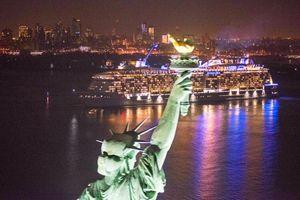 Anthem of the Seas in New York Harbor