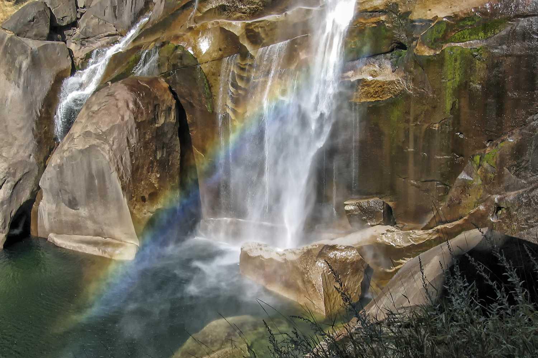 Rainbow in the Mist of Vernal Falls, Yosemite