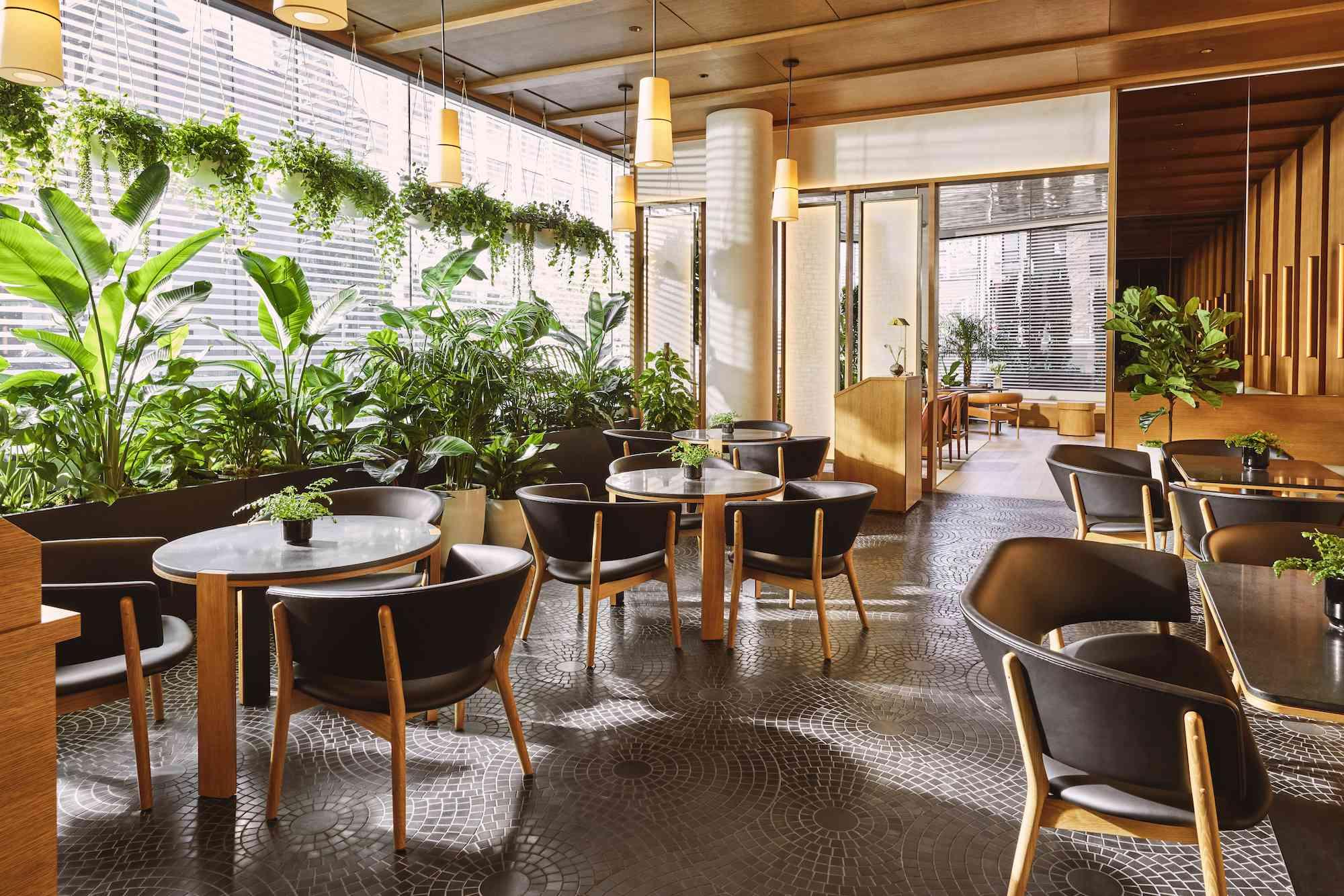 Pendry Manhattan West Garden Room