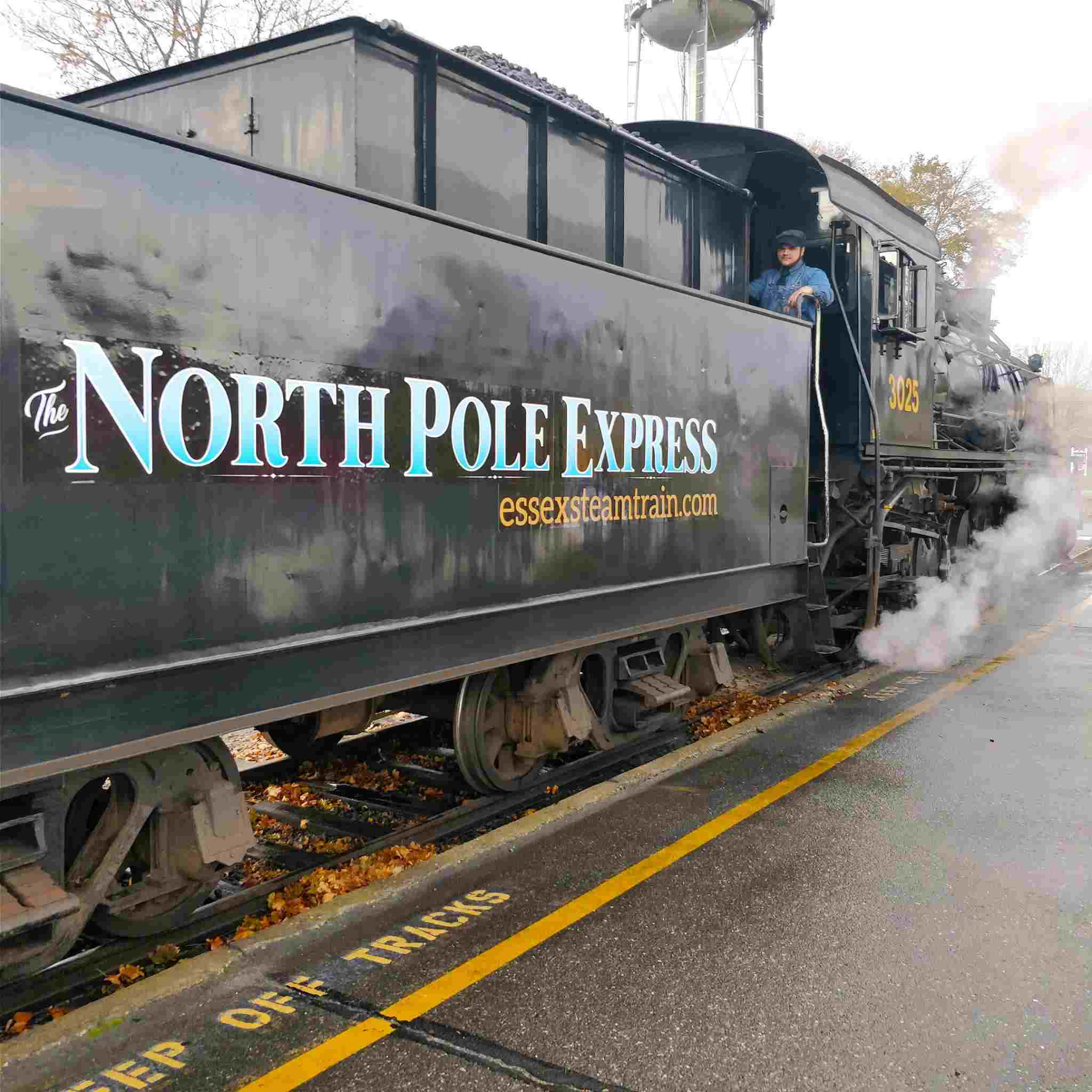 The North Pole Express by Essex Steam Train