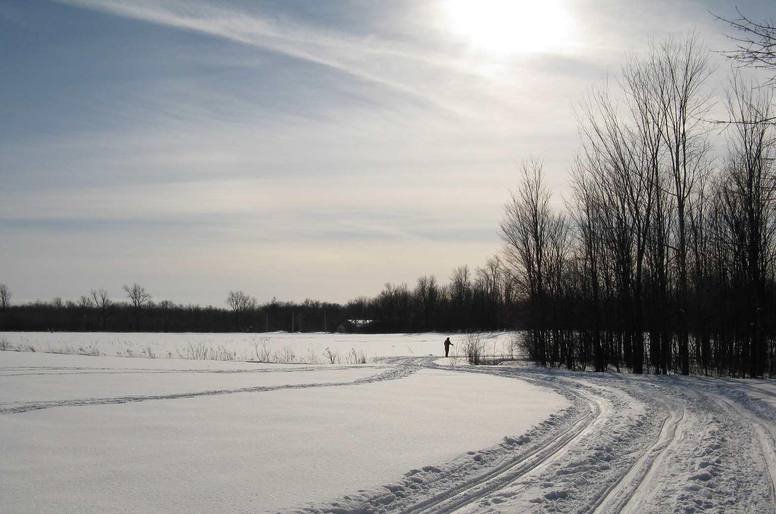 Snowshoeing Montreal season details for Cap Saint-Jacques.