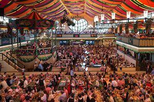Oktoberfest Beer Tent Marstall