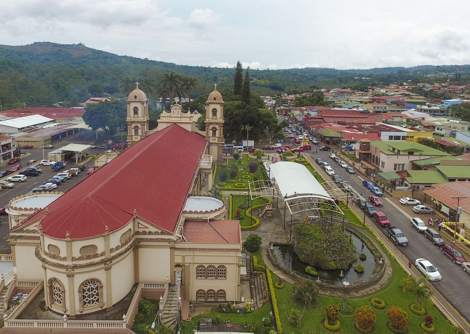 Church at Naranjo City - Costa Rica