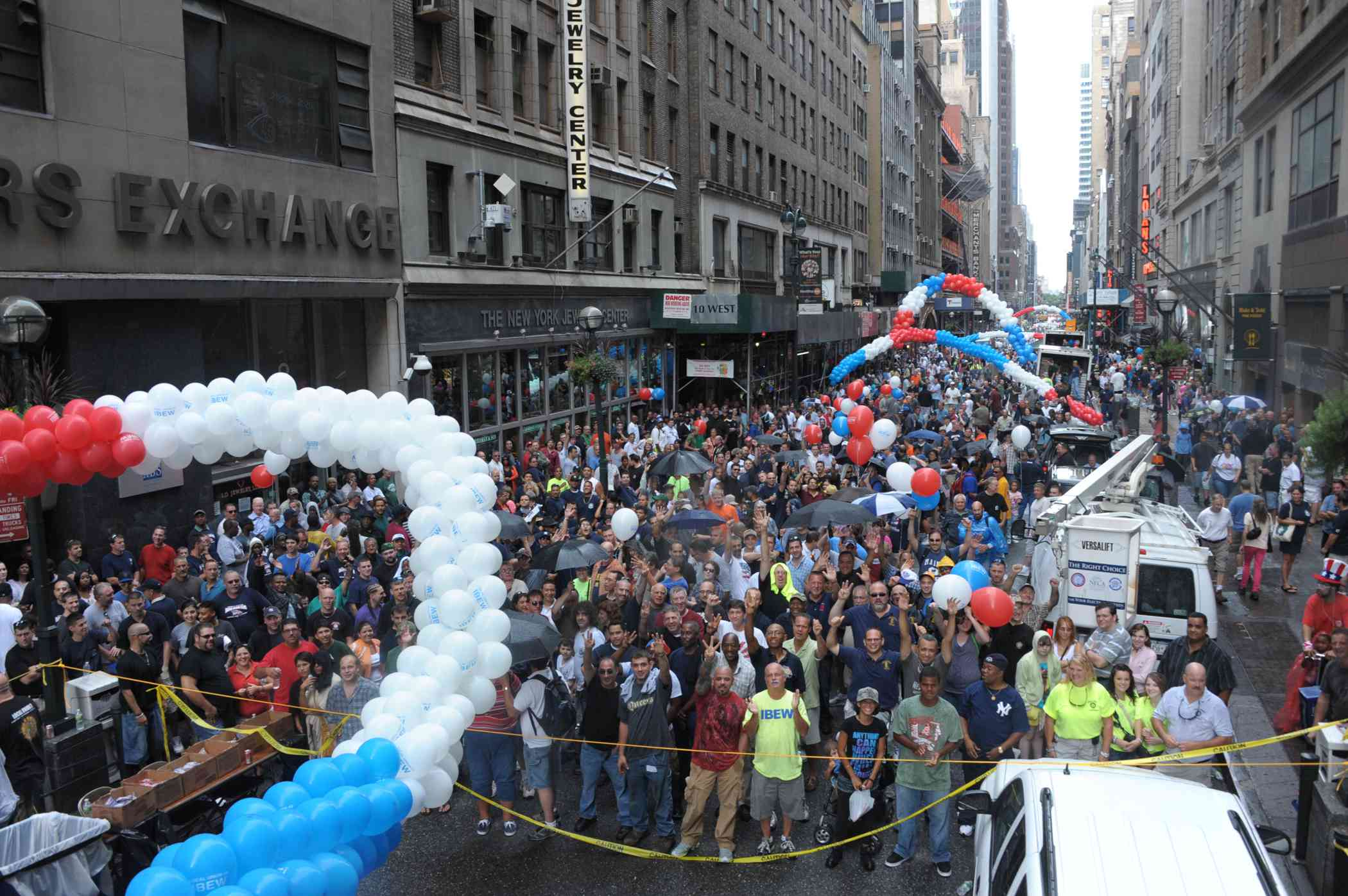 Labor Day Parade in NYC