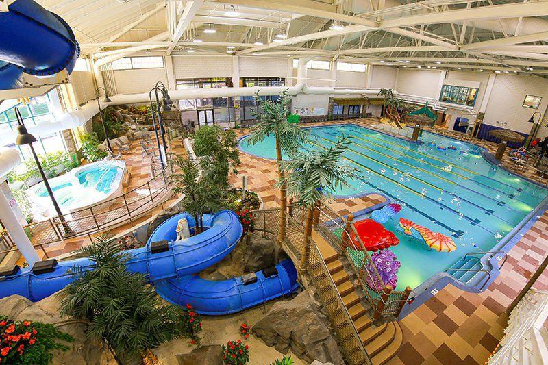 El parque acuático Tropics en Shoreview