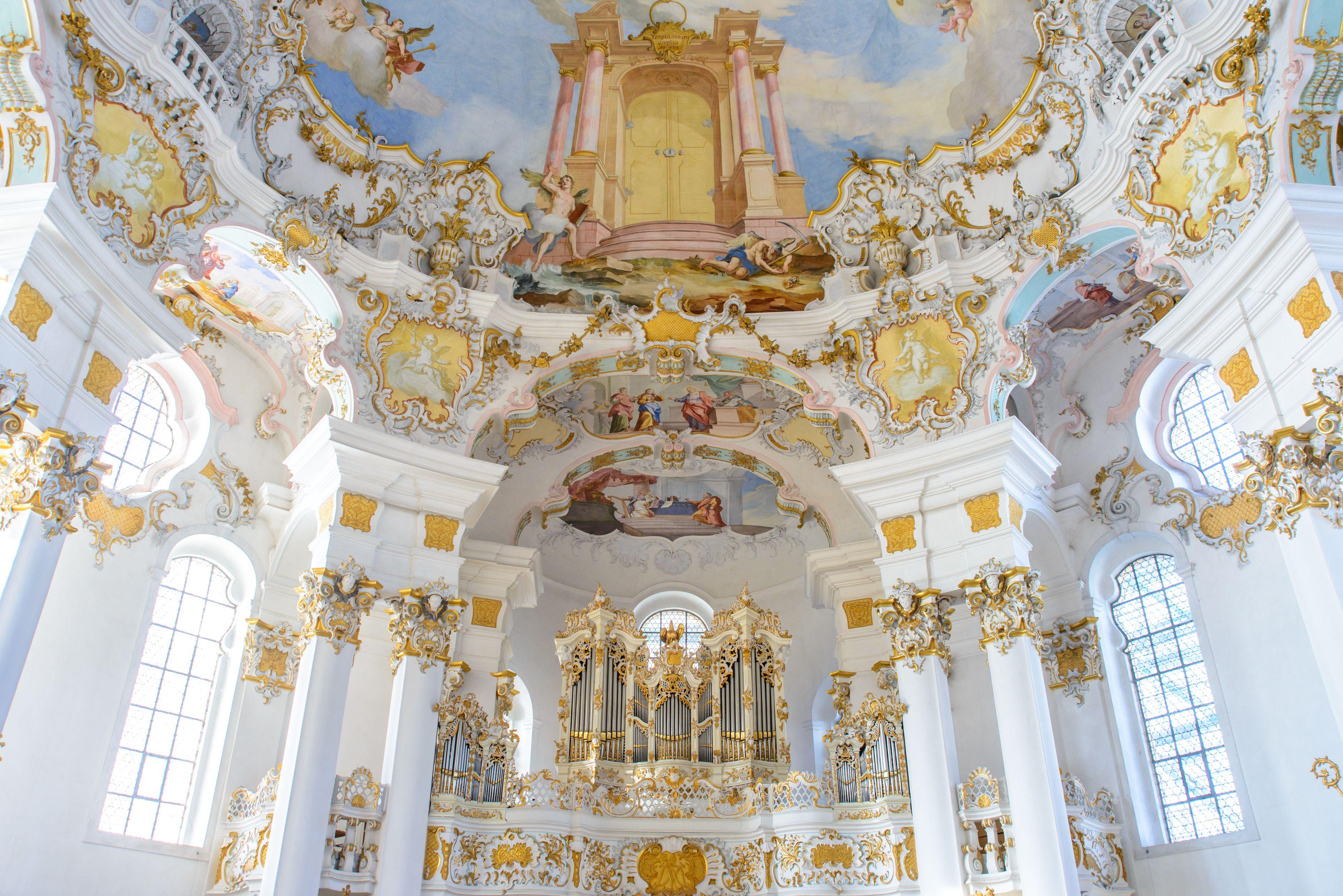 wieskirche church in bavaria, Germany