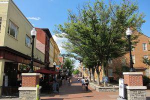 The Loudoun Street Mall in Winchester, Virginia