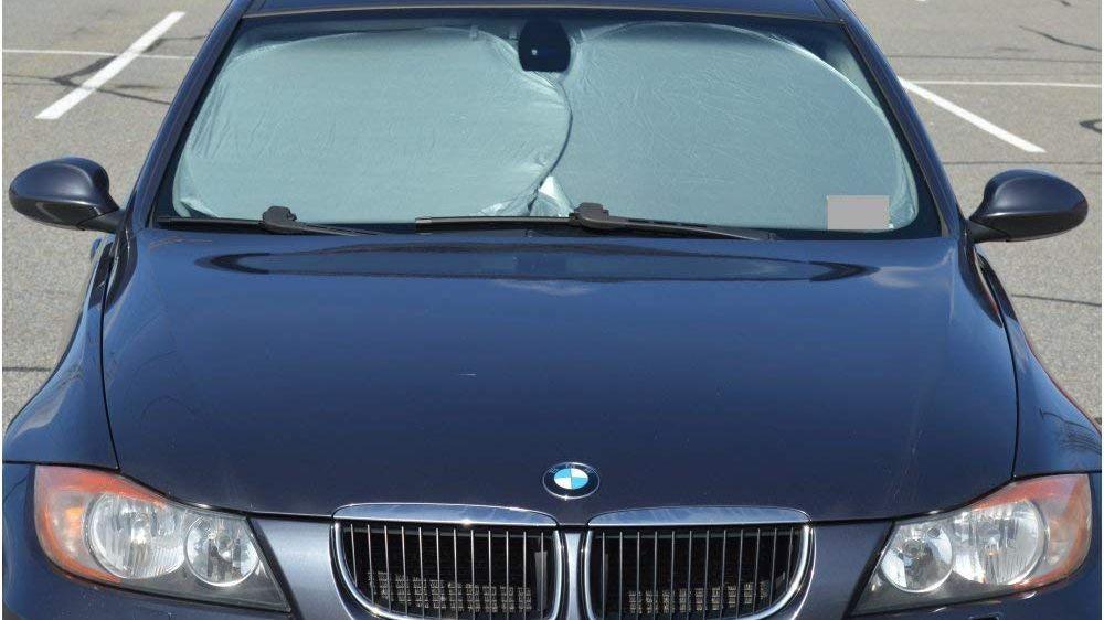 Black Brica Hot Car Window Sun Shade