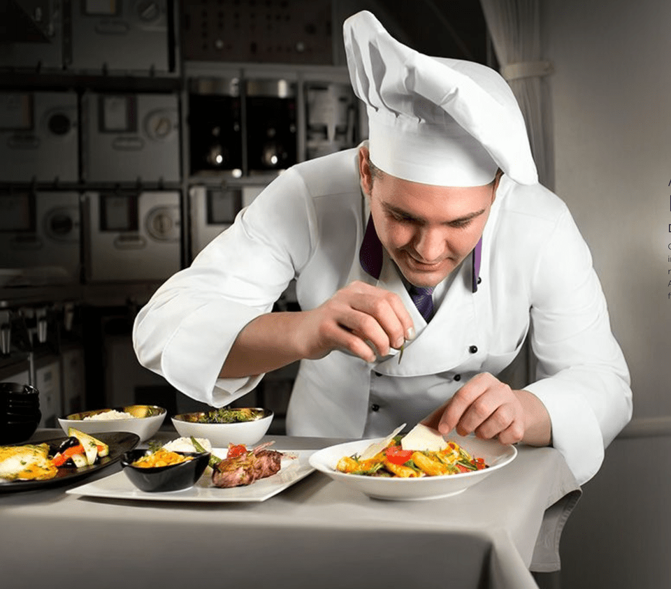 Turkish Airlines chef