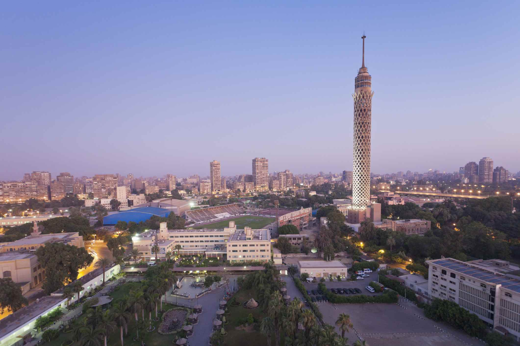 The Cairo Tower in Egypt