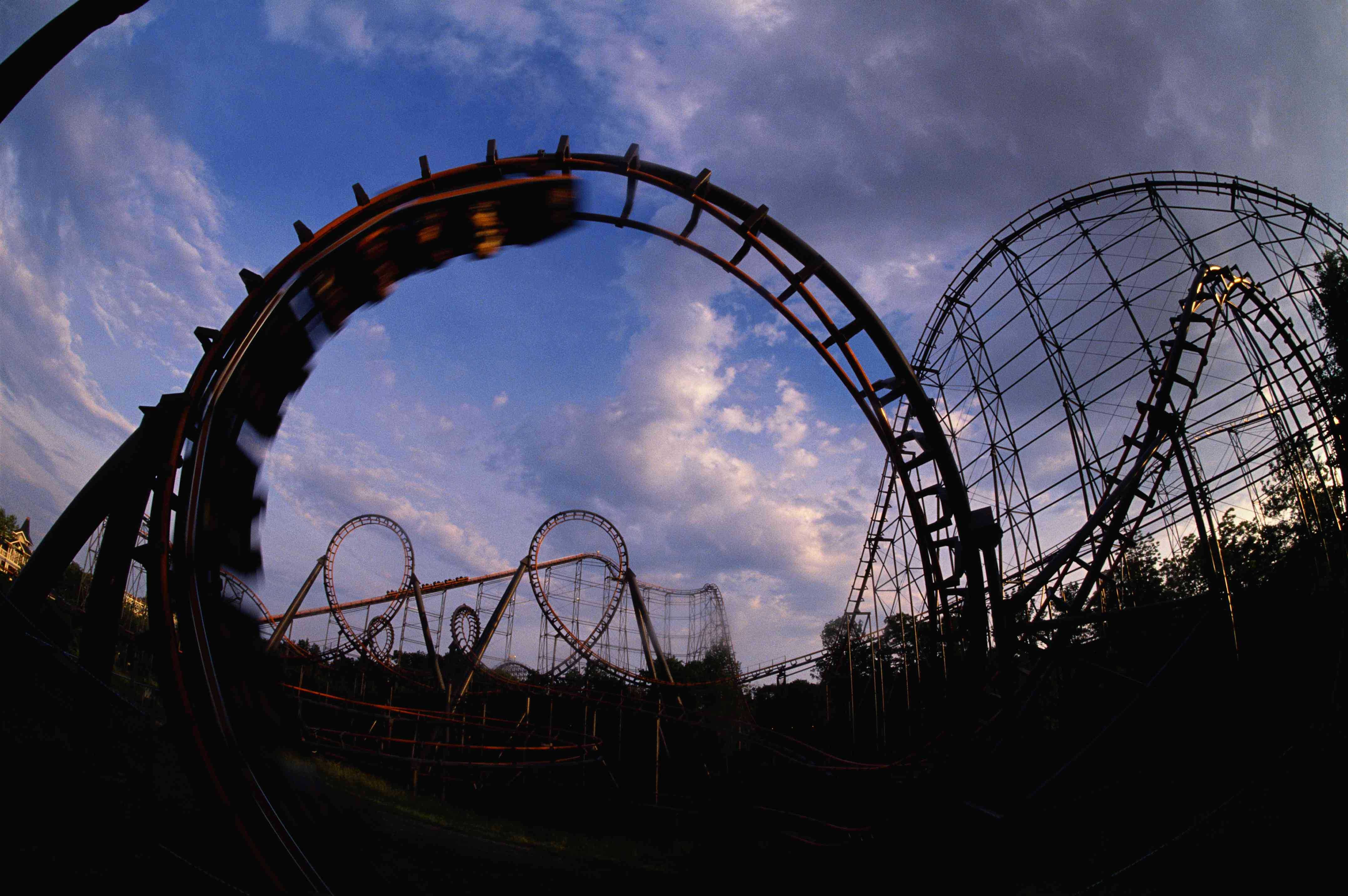 The Vortex at Kings Island