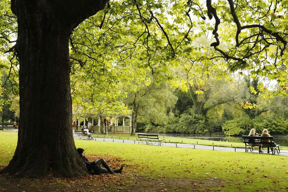 Dublin Park of St. Stephen's Green