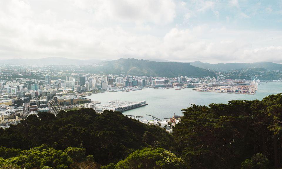 Vista desde el Mirador del Monte Victoria