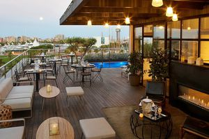 Rooftop at The Serras in Barcelona