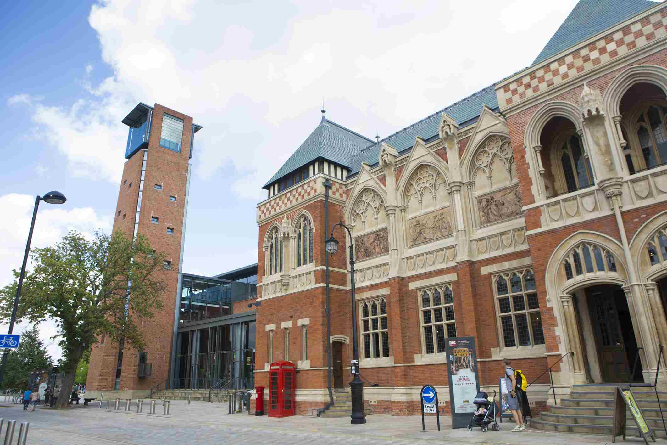 Royal Shakespeare Company Theatre The Old and New RSC Theatre