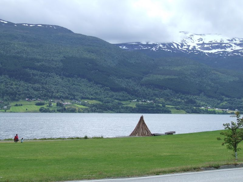 Lake in Voss, Norway