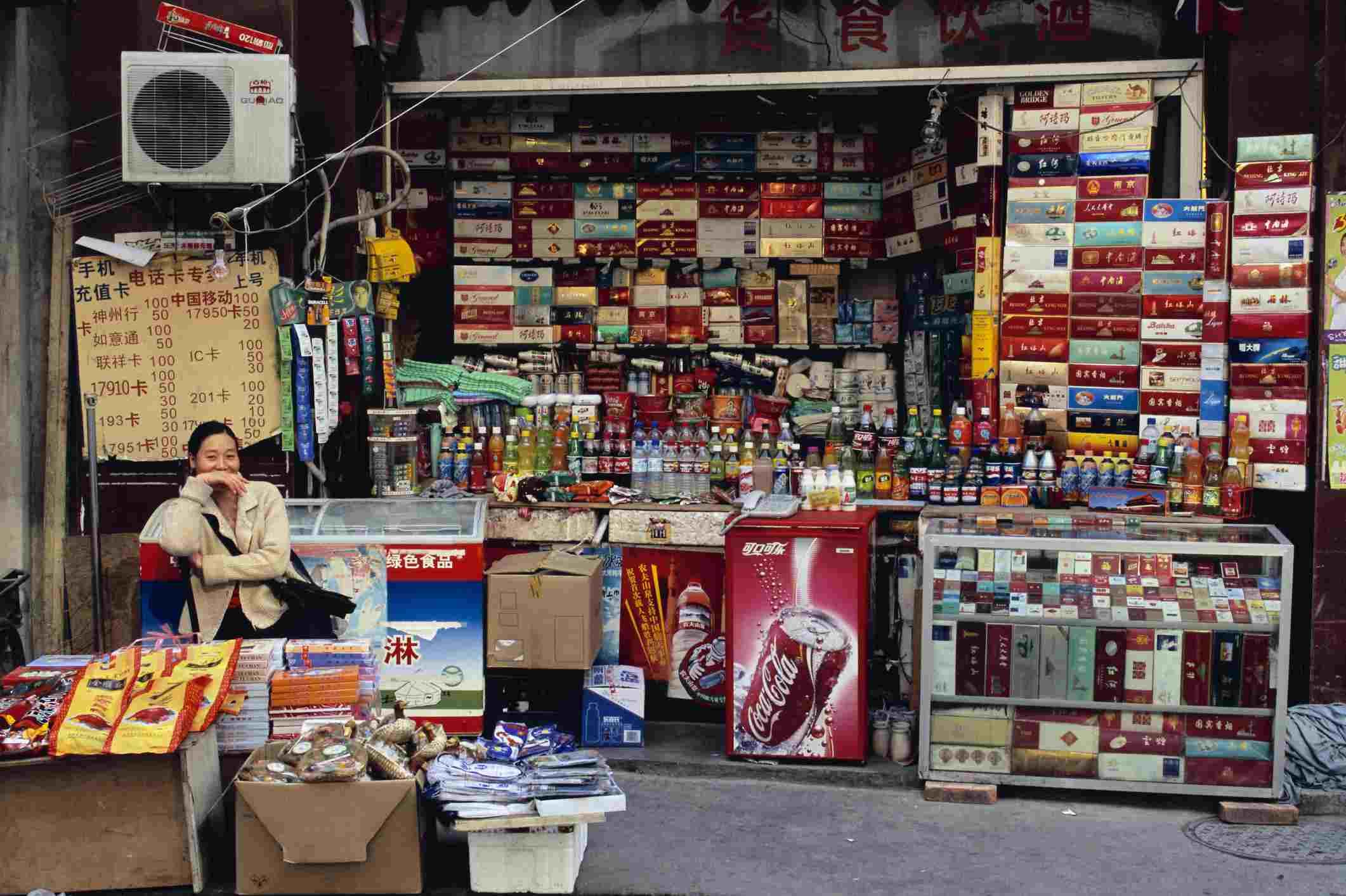 Street Stall in Beijing