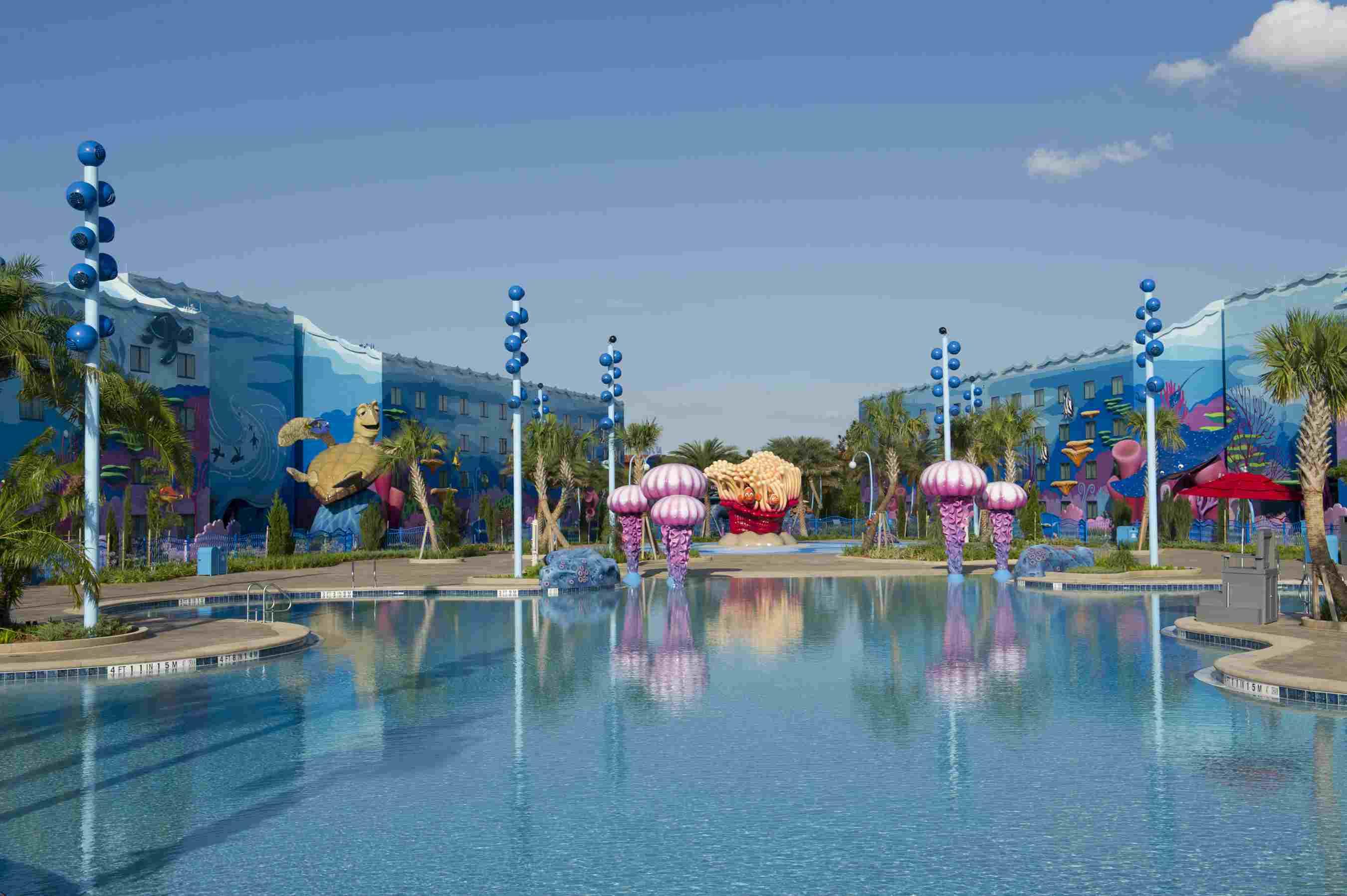 "Disney's Art of Animation Resort: ""Big Blue"" Pool"