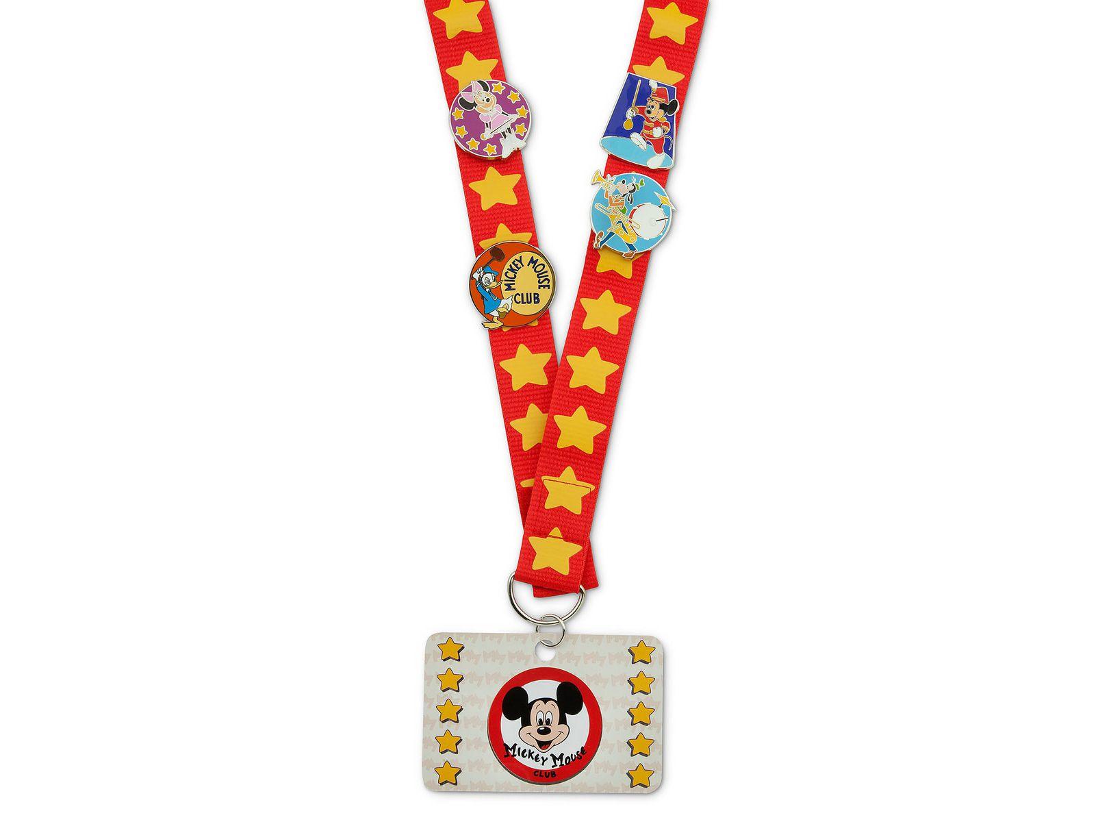 Disney world pin lanyard
