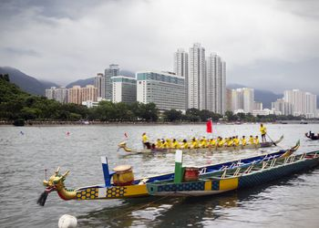 Dragon boat races in Hong Kong