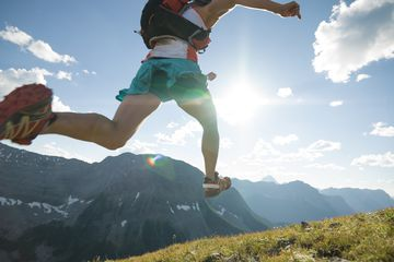 Trail running. Getty Images