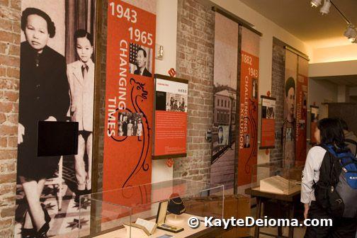 Chinese American Museum at El Pueblo de Los Angeles Historical Monument in Los Angeles