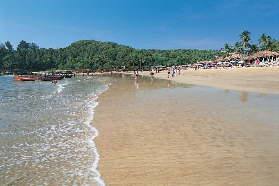 Baga Beach, Baga, Goa, India