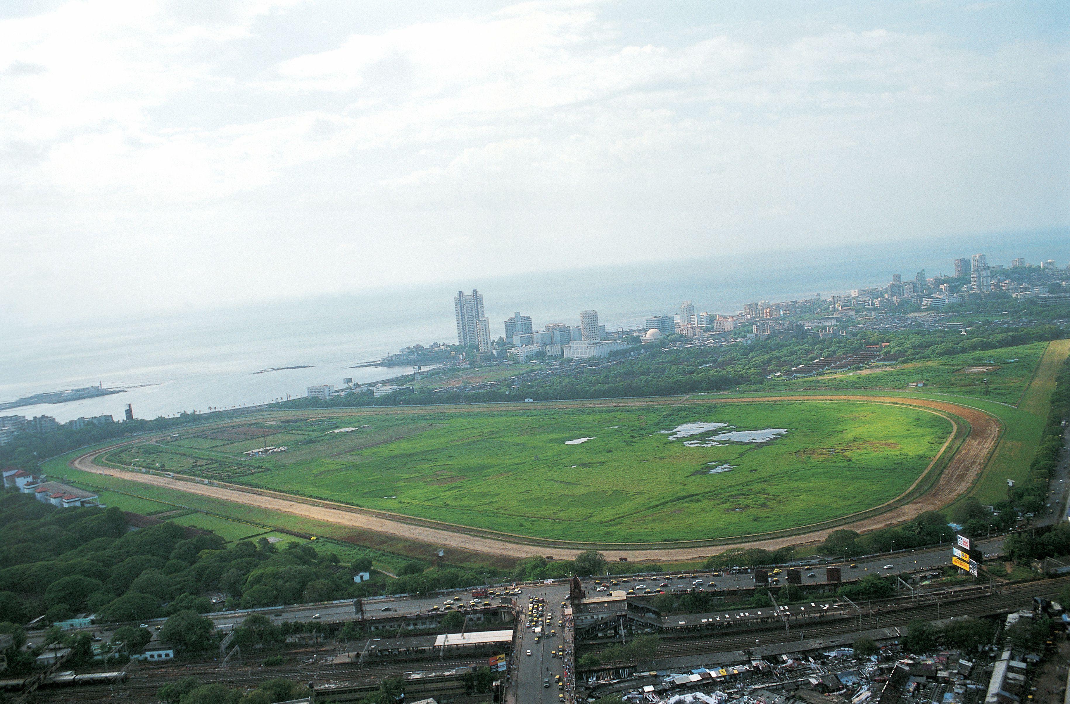 Mahalaxmi racecourse, Mumbai.