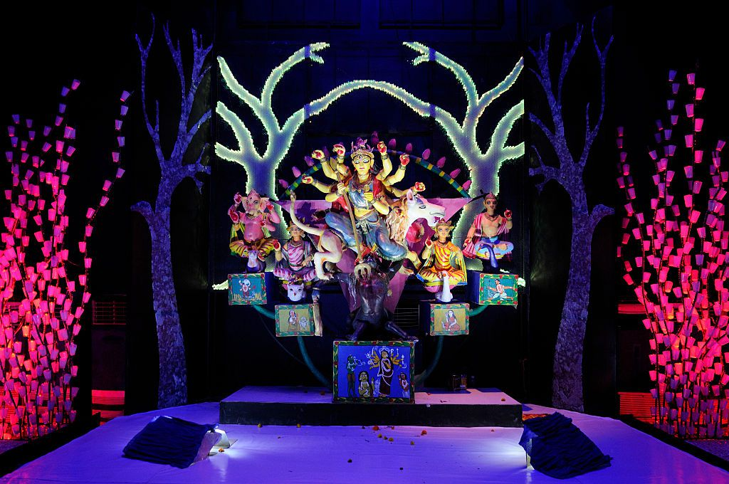 settings Kolkata gets ready for Durga Puja