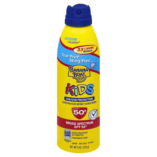 Banana Boat Kids UVA / UVB Protection Spray Protector solar SPF 50 +