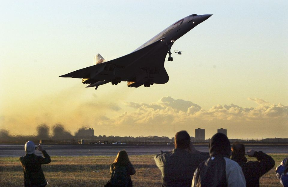 The Date Of Last Concorde Flight From New York City Was October 24 2003 Photo By Mario Tama Getty Images
