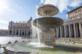 Fountains of St. Peter's Square, Vatican City