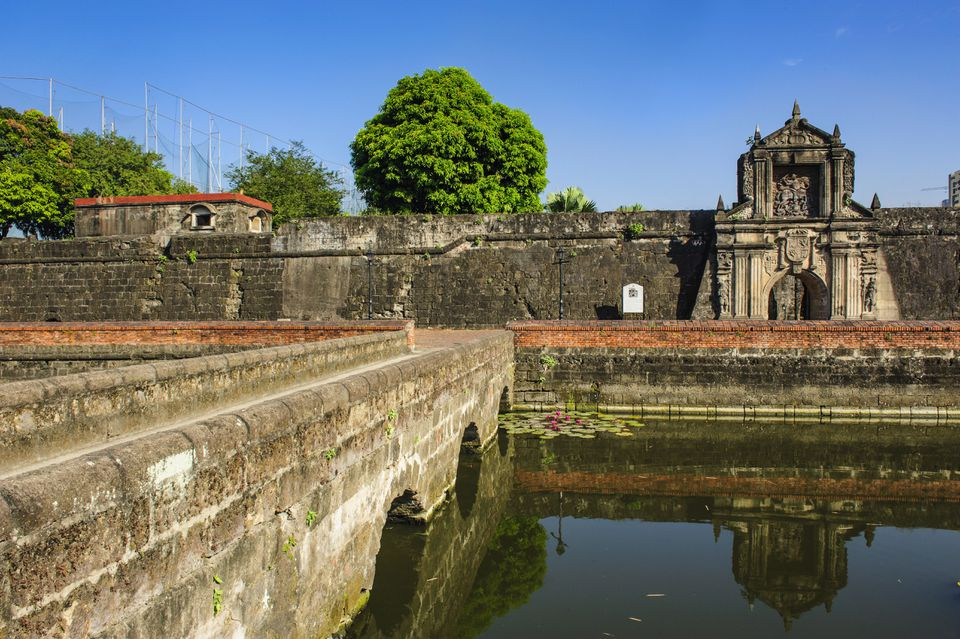 Entrance to the old Fort Santiago