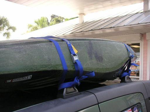 Kayak Roof Rack Step 5
