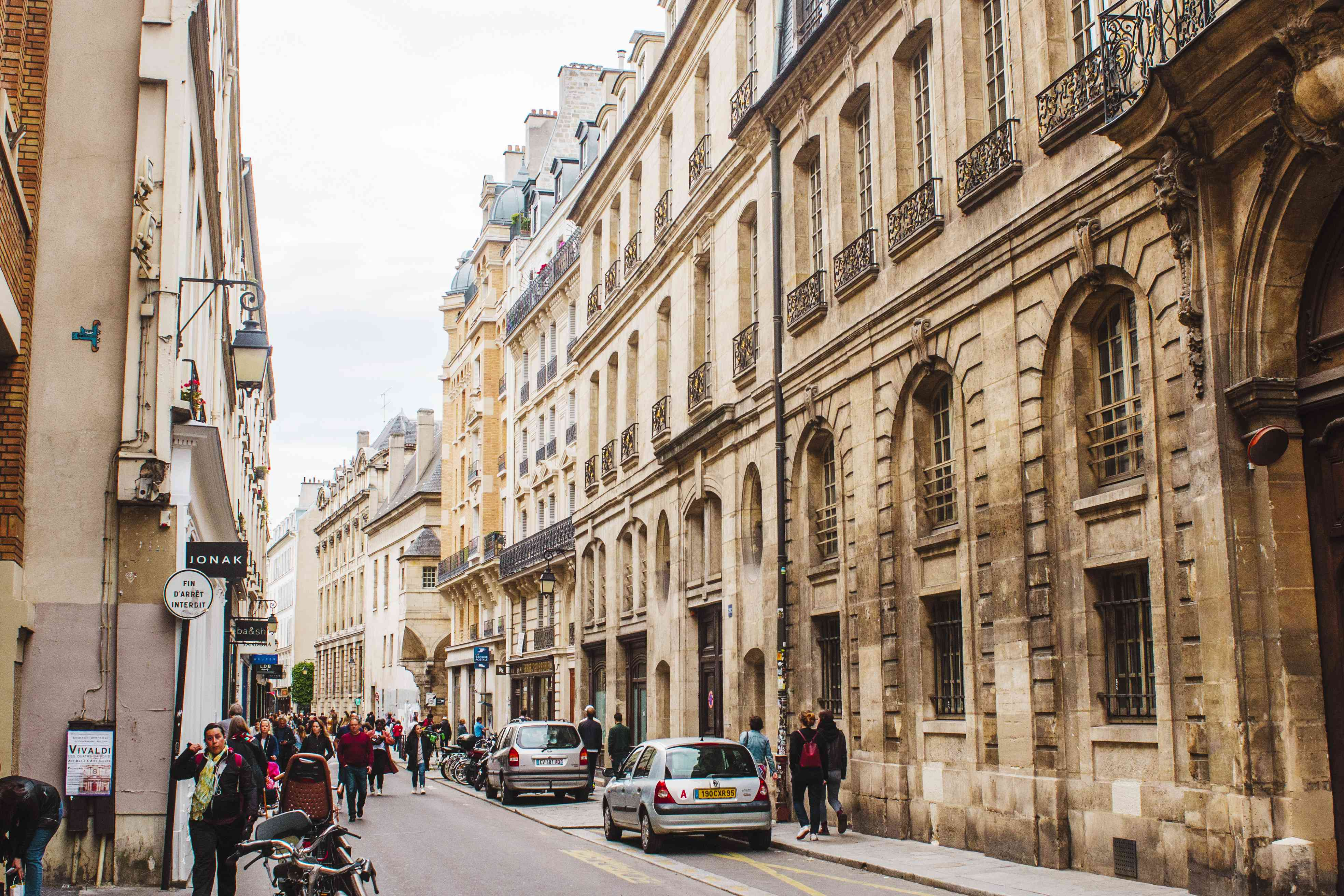 Rue Francs Bourgeois
