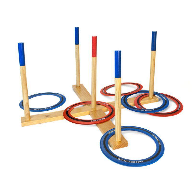 Yard Games Wooden Outdoor Ring Toss