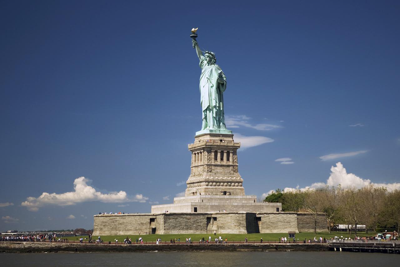 La Estatua de la Libertad, Isla de la Libertad, Ciudad de Nueva York, NY, EE. UU.