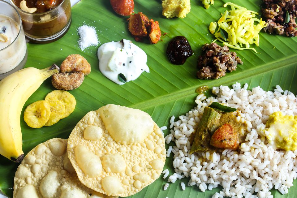 Kerala meal.