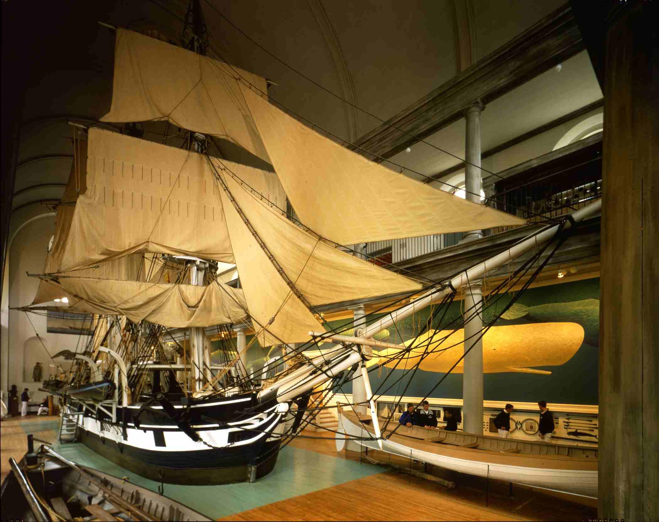 Lagoda Whaling Ship