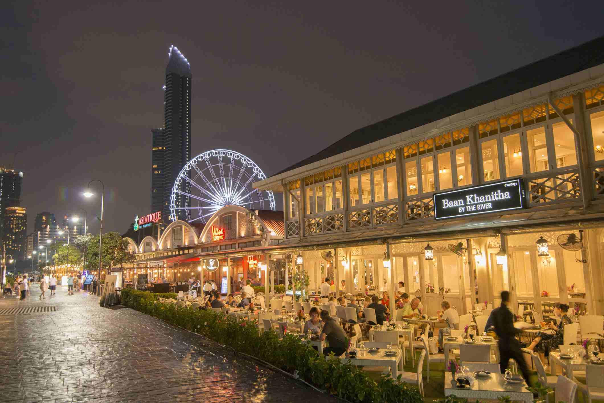 THAILAND BANGKOK ASIATIQUE RIVERFRONT