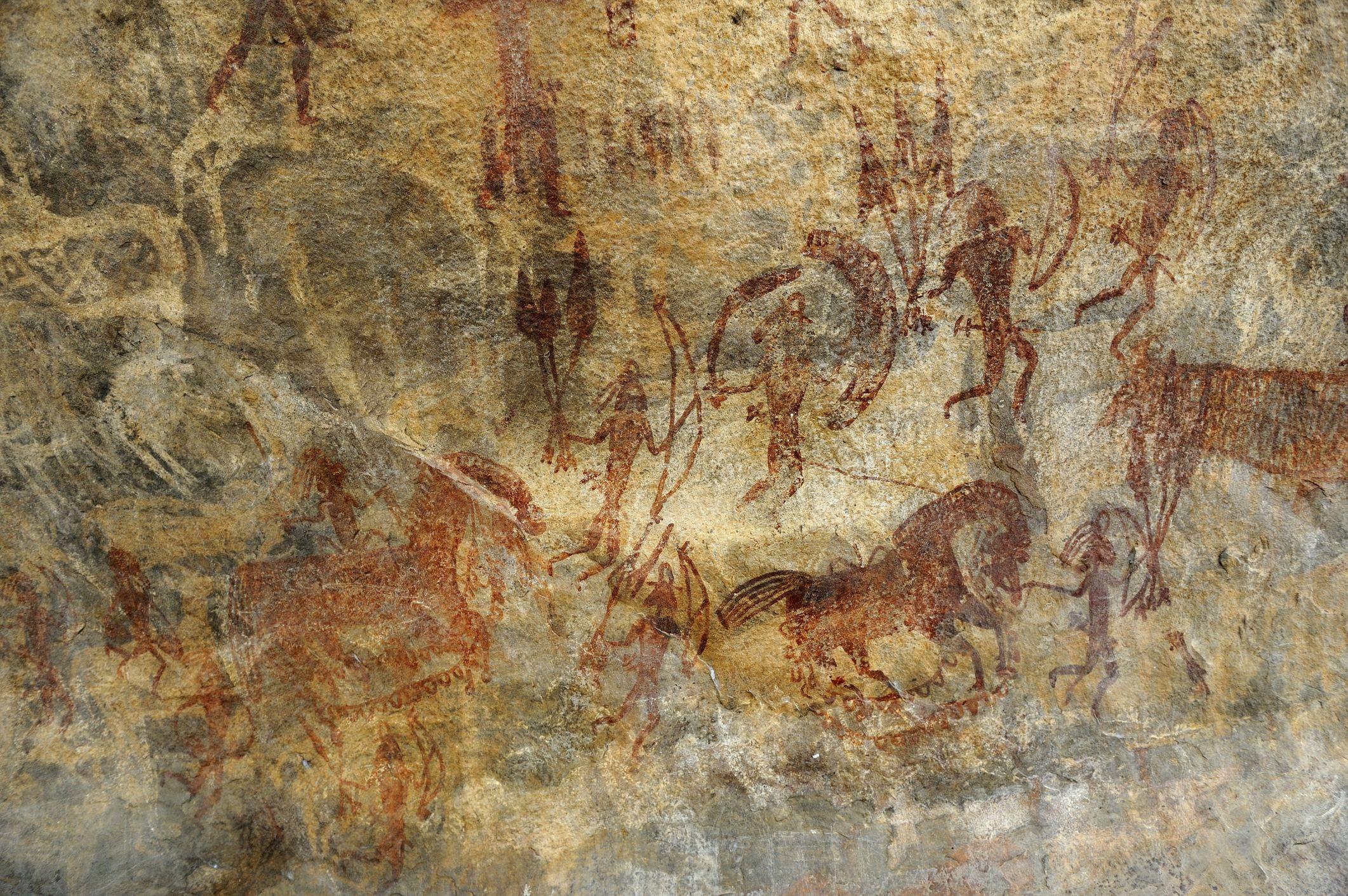 Bhimbetka Rock Painting