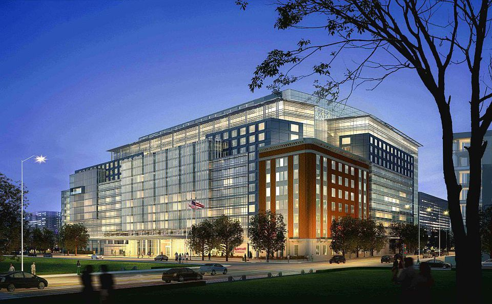 Rendering of the Marriott Marquis in DC