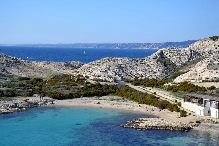 Saint-Esteve Beach, Pomègues Island, Marseille