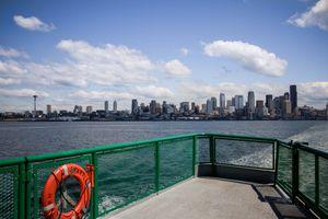 Ferry boat in Seattle, Washington