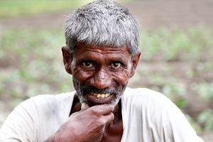 Indian man portrait.