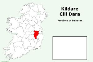 County Kildare on the Map