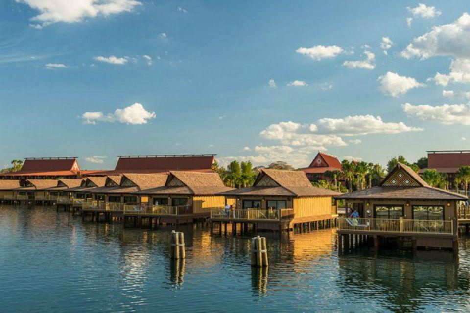 Disney World Polynesian Bungalow Exterior