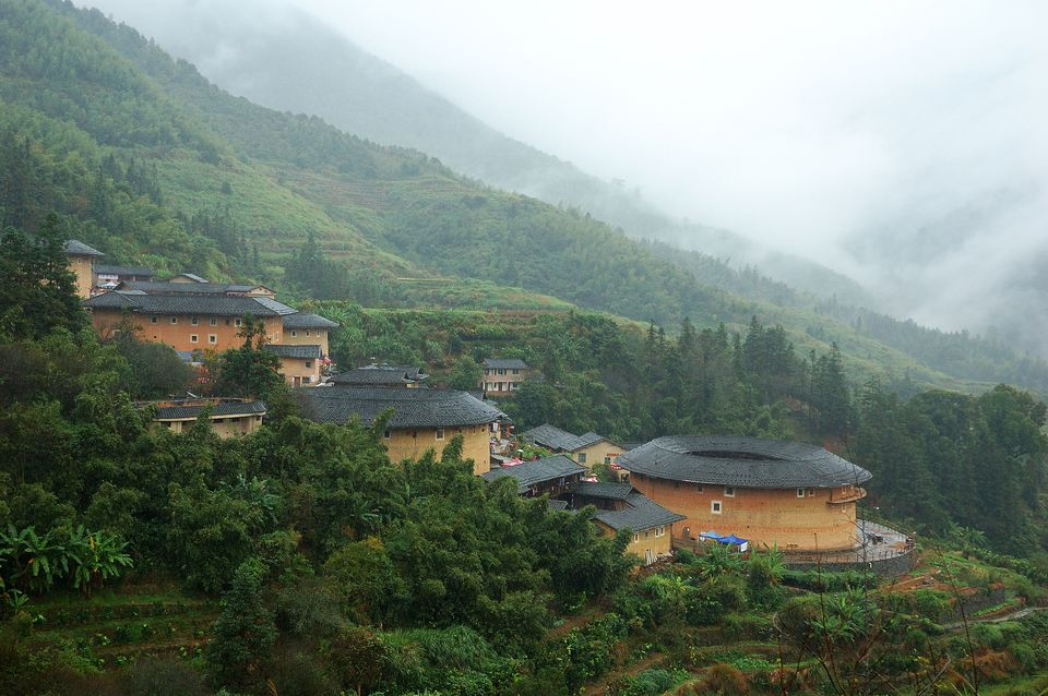 Hakka Tulou Traditional Chinese Housing in Fujian, China