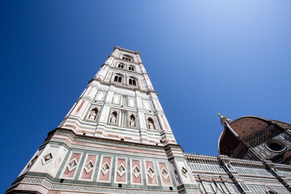 Giotto's Campanile in Florence, Italy