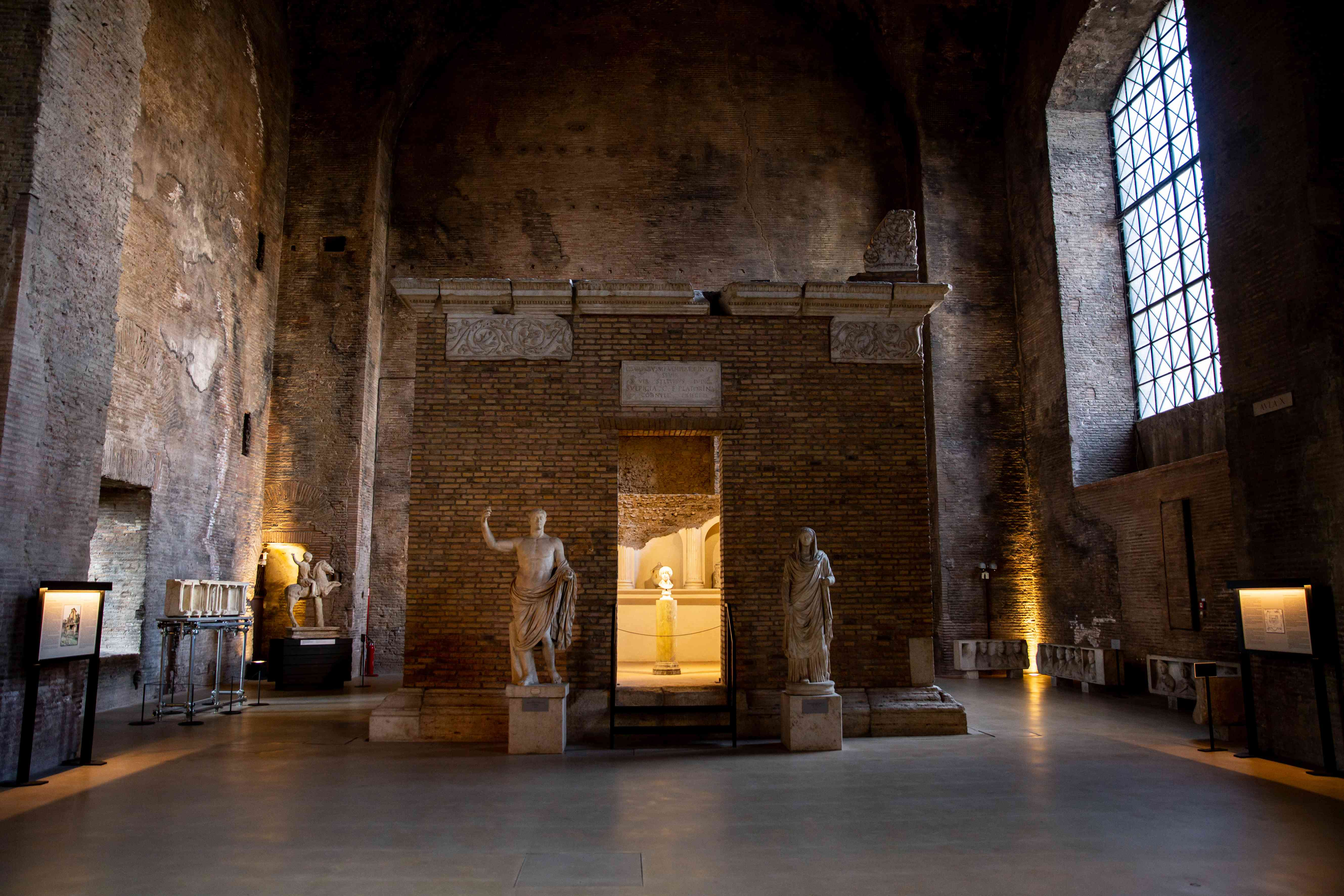 Baths of Diocletian in Rome, Italy